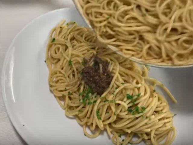 Spaghetti con la Bagna Càuda